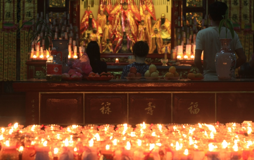 Chinese New Year Temple