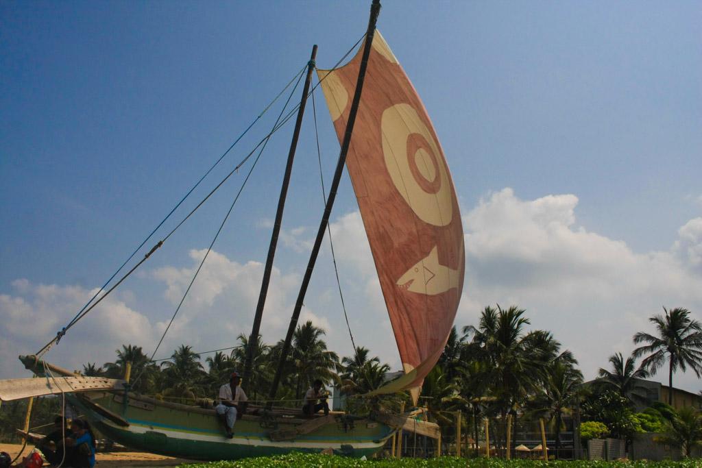 Yacht at Negombo