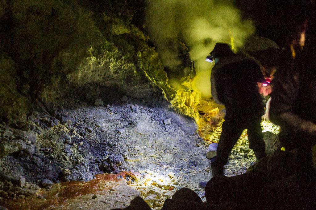 Kawah Ijen miner