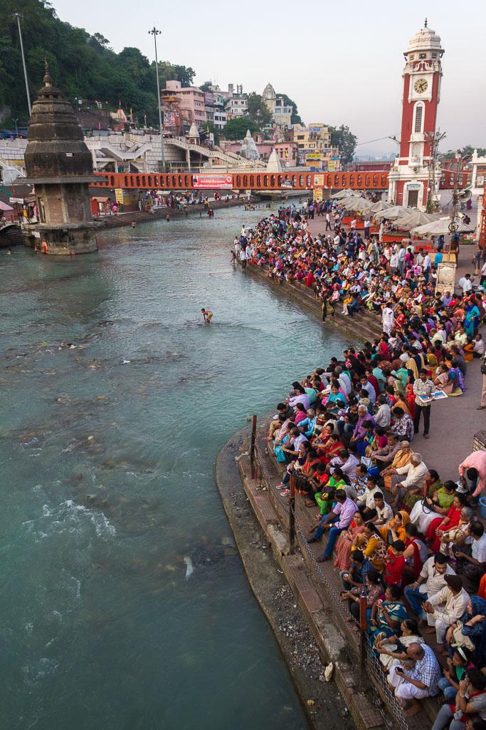 The Har-Ki-Pairi ghat in Haridwar