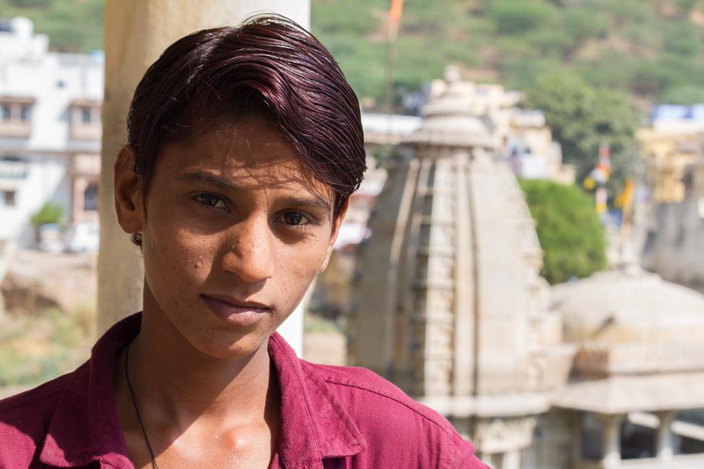 An Indian boy