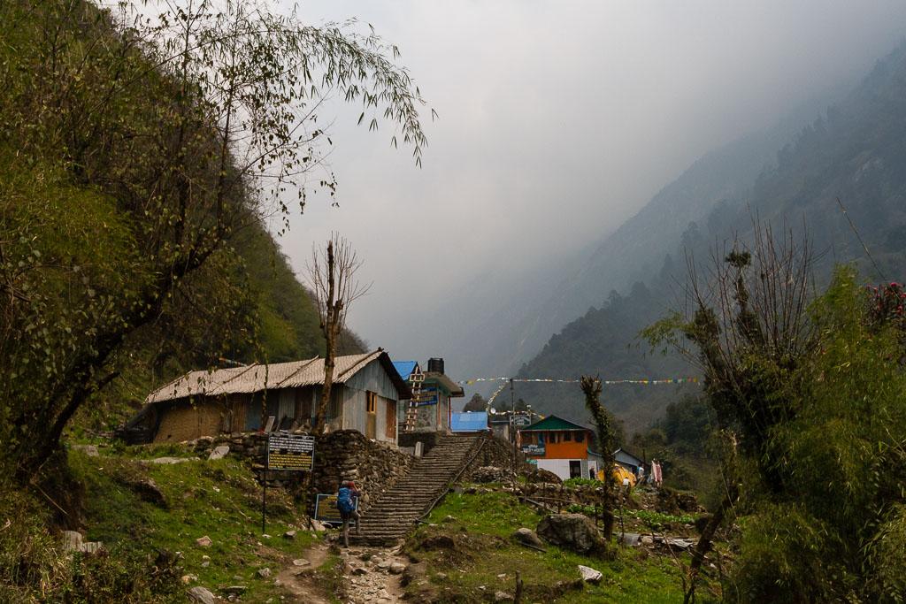Heading towards Annapurna Base Camp