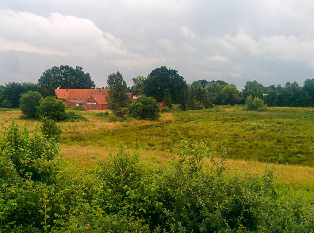 Pastoral scenes in west Germany