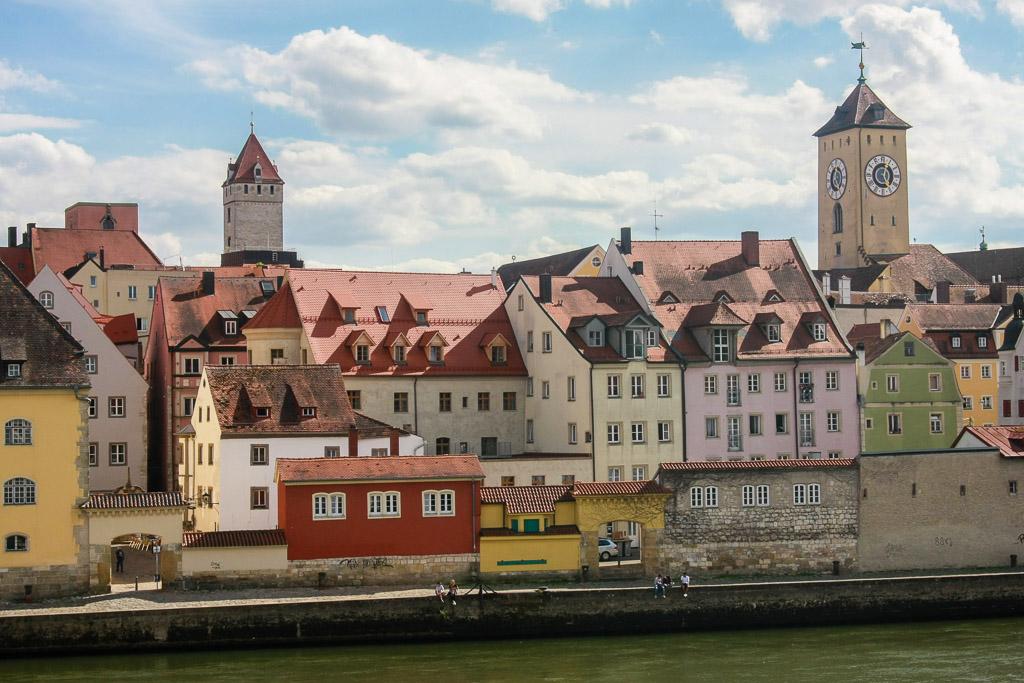 Regensburg, a town I visited after Munster