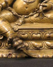 14th-c-tibet-jambhala-gilt-c-a-yellow-foot-on-lotus