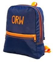 Navy OrangeToddler Back Pack