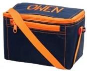 Navy Orange Lunch Box
