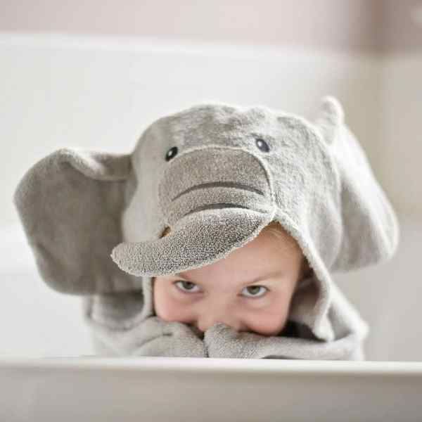 Personalized Kids Towel - Elephant