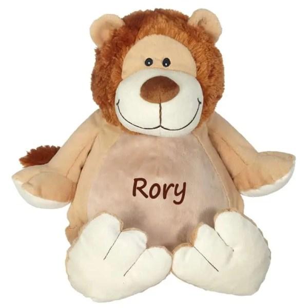 personalized stuffed animal - lion