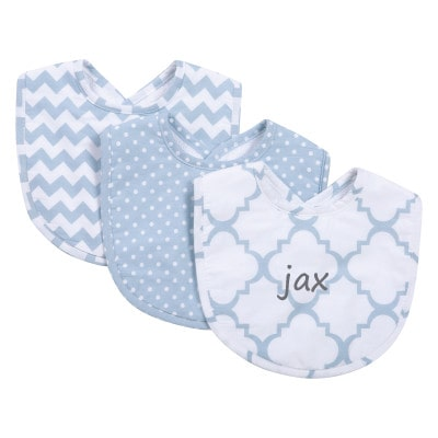 Blue Sky Personalized Bibs