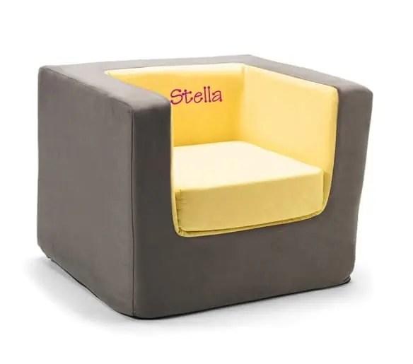 Monte Cubino Chair - Yellow