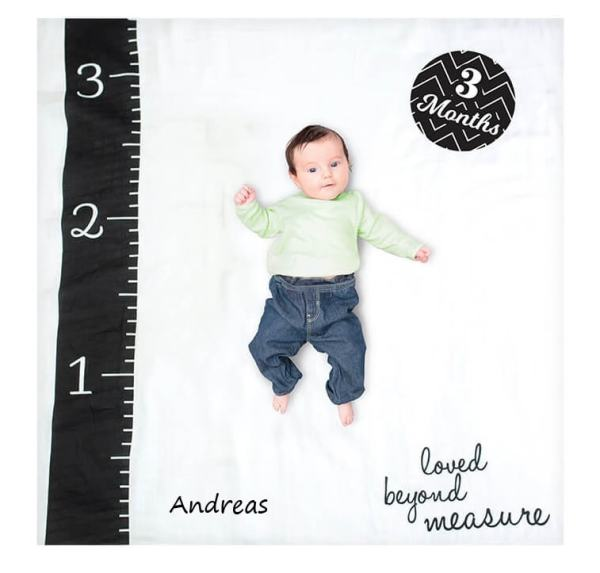 Milestone Blanket - Loved Beyond Measure