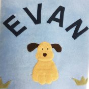 Personalized Fleece Blanket - Dog