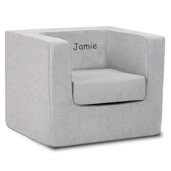 Personalized Cubino Chair - Solid Ash Monte