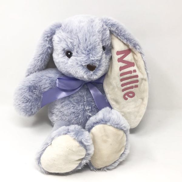 Personalized Bunny - Lilac
