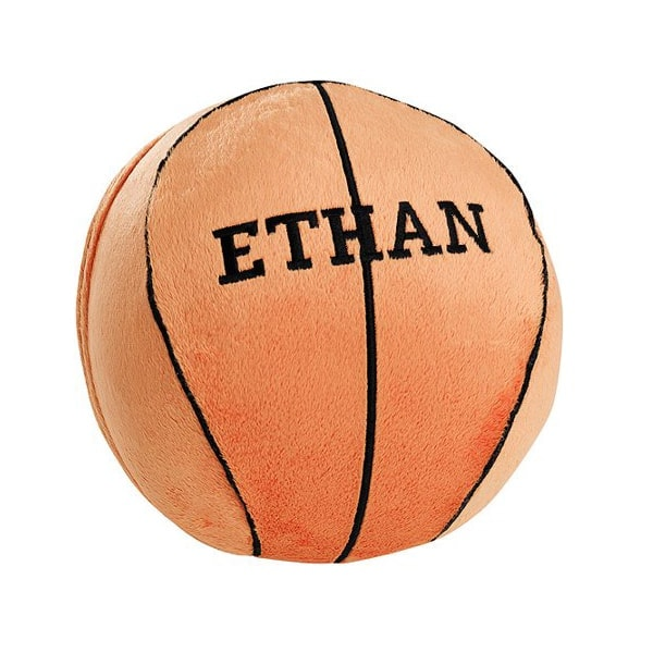 Personalized Plush Basketball