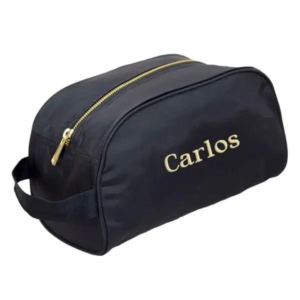 Personalized Traveller Bag - Black Brass