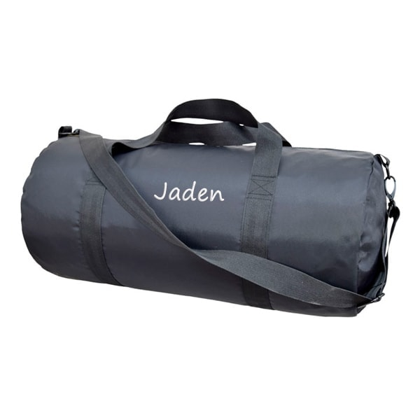 Personalized Weekend Duffel - Black Brass
