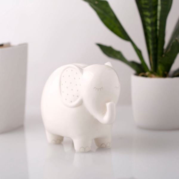 Personalized Piggy Bank - Elephant