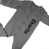 Personalized Sleeper - Grey