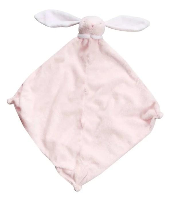 Angel Dear Pink Bunny Lovie Blankie