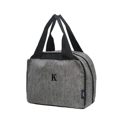 Personalized Kids Bags - Grey Crosshatch