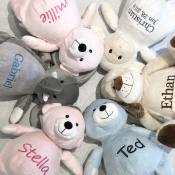 PERSONALIZED & EMBROIDERED STUFFED ANIMALS