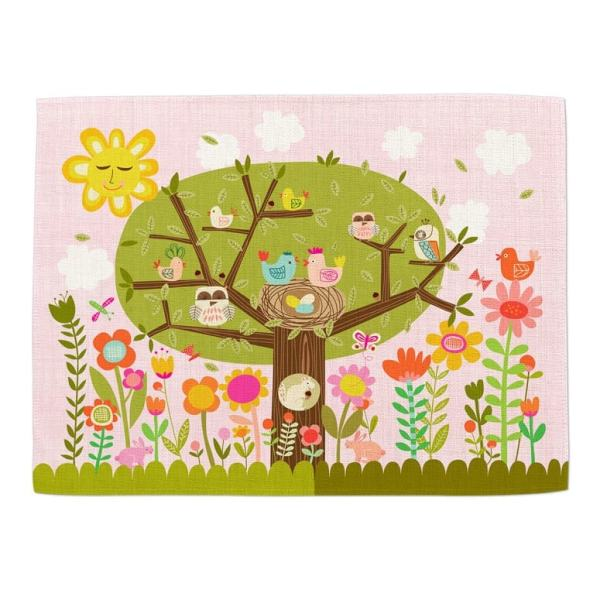 Personalized Placemat for Kids - Non Personalized