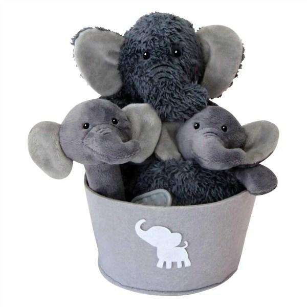 Baby Gift Basket - Elephant