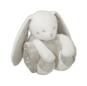 Personalized Baby Blanket & Animal Set - Bunny