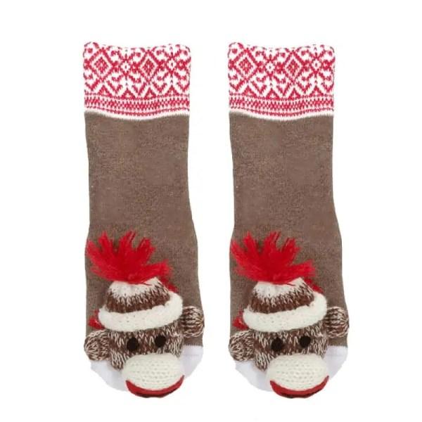 Baby Socks - Sock Monkey