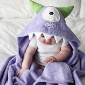 Personalized Kids Towel - Monster