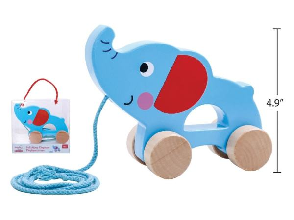 Tooky Toy - Pull Along Elephant