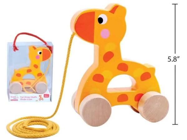 Tooky Toy - Pull Along Giraffe