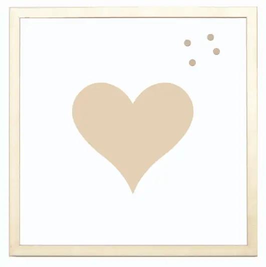 magnet frame - heart