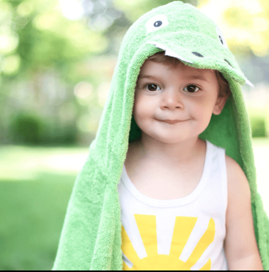 Personalized Kids Towel - Alligator