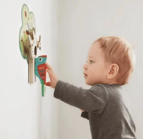 Woodpecker Wall Toy