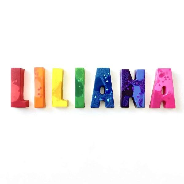 name crayon - rainbow