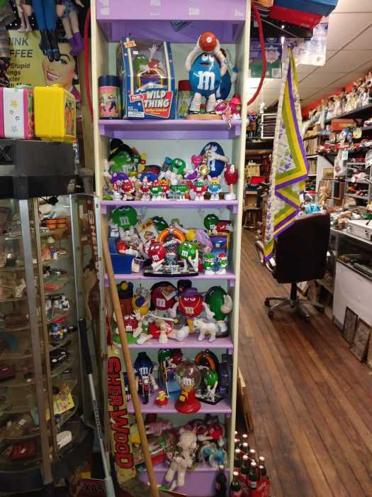 M&M's section