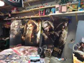 Play area and Lord of the Rings Display