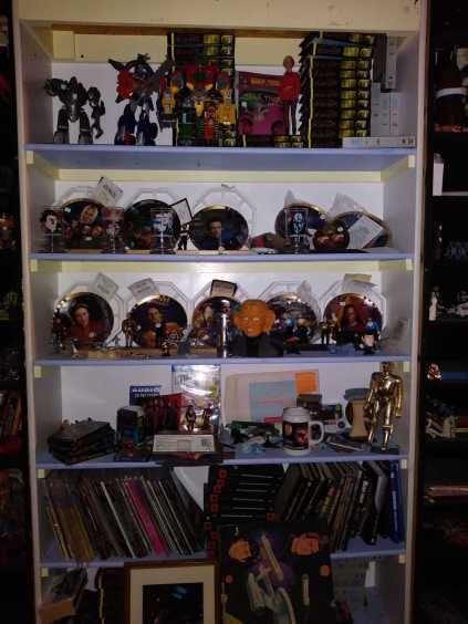 Star Trek Figures and Books