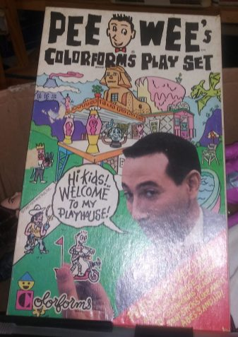 Pee Wee's Color Forms Play set 1