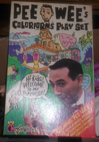Pee Wee's Color Forms Play set 2