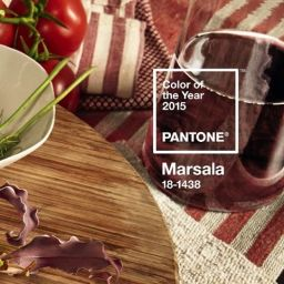 Marsala, color of the year by PANTONE®