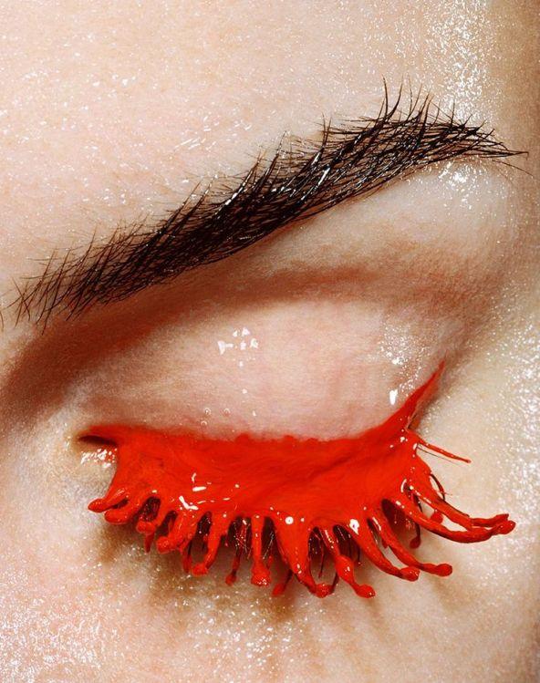"""AquaBeauty"" eye makeup - photographer Alexander Gnadinger"
