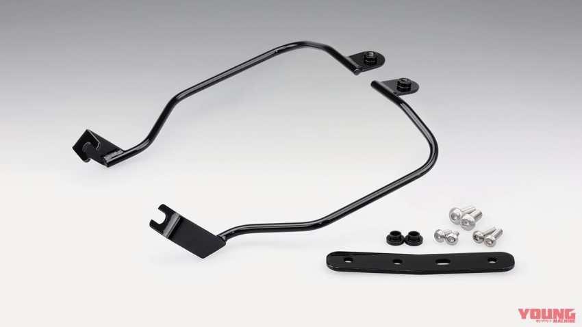 ホンダ CBR650R/CB650R用 バッグサポート