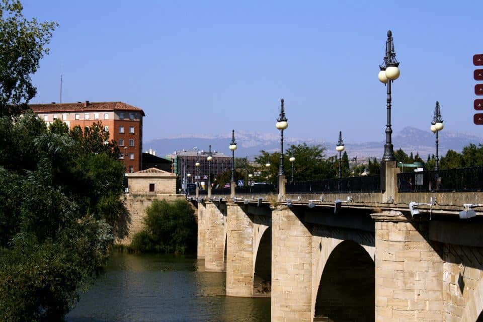 Bridge into Logrono