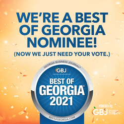 Click to give us a vote as the best music school in the Georgia Business Journal!