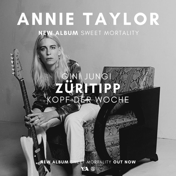 Züritipp / Tages-Anzeiger had an in-depth conversation with singer and guitarist Gini Jungi from Annie Taylor about their new album! Very interesting read indeed!