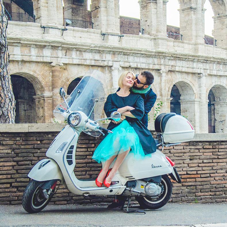 организация предложения выйти замуж в Риме